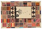 Kilim Patchwork carpet XVZQ85