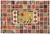 Kelim Patchwork tapijt XVZQ19