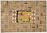 Kilim Patchwork carpet XVZQ24