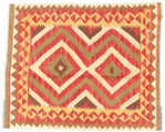 Kelim Afghan Old style Teppich ABCO2429