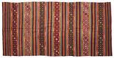 Kilim semi antique Turkish carpet XCGZF914
