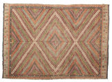 Kilim semi antique Turkish carpet XCGZF906