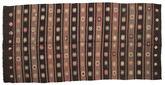 Kilim semi antique Turkish carpet XCGZF890