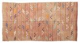 Kilim semi antique Turkish carpet XCGZF884