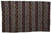 Kilim semi antique Turkish carpet XCGZF1372