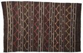 Kilim semi antique Turkish carpet XCGZF1369