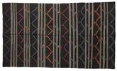 Kilim semi antique Turkish carpet XCGZF1367
