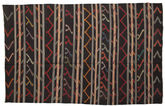 Kilim semi antique Turkish carpet XCGZF1360