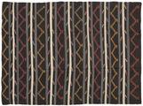 Kilim semi antique Turkish carpet XCGZF1345