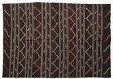 Kilim semi antique Turkish carpet XCGZF1330