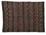 Kilim semi antique Turkish carpet XCGZF1321