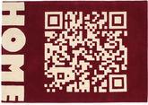 QRCode_Home Handtufted - Röd matta CVD13711
