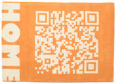 QRCode_Home Handtufted - Orange matta CVD13714