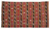 Kilim semi antique Turkish rug XCGZF1011