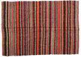 Kilim semi antique Turkish carpet XCGZF1007