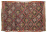 Kilim semi antique Turkish carpet XCGZF981