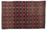 Kilim semi antique Turkish carpet XCGZF953
