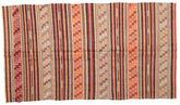 Kilim semi antique Turkish carpet XCGZF941