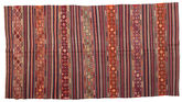 Kilim semi antique Turkish carpet XCGZF940