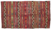 Kilim semi antique Turkish carpet XCGZF938