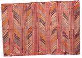 Kilim semi antique Turkish carpet XCGZF929