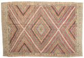 Tapis Kilim semi-antique Turquie XCGZF1026