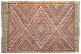 Kilim semi antique Turkish carpet XCGZF1025