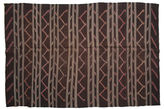 Kilim semi antique Turkish carpet XCGZF1316