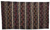 Kilim semi antique Turkish carpet XCGZF1310