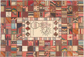 Kilim Patchwork carpet XVZZM127