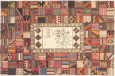 Kilim Patchwork carpet XVZZM129
