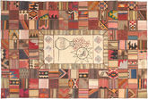 Kilim Patchwork carpet XVZZM136