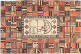 Kilim Patchwork carpet XVZZM139