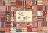 Kilim Patchwork carpet XVZZM32
