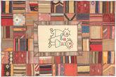 Kilim Patchwork carpet XVZZM36