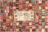 Kilim Patchwork carpet XVZZM145