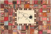 Kilim Patchwork carpet XVZZM119