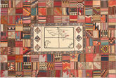 Kilim Patchwork carpet XVZZM148