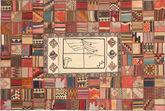 Tapis Kilim Patchwork XVZZM148