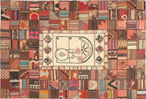 Kilim Patchwork carpet XVZZM151