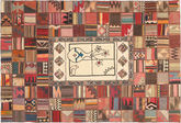 Kilim Patchwork carpet XVZZM152