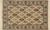 Isfahan silkerenning signert: Davari teppe TTF14