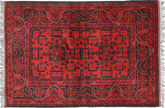 Afghan Teppich ANH217