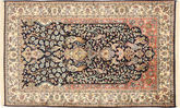 Kashmir pure silk carpet MSA306