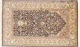 Kashmir pure silk carpet MSA320
