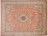 Kashmir pure silk carpet MSA37