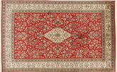 Kashmir pure silk carpet MSA223