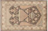 Kashmir pure silk carpet MSA283