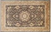 Kashmir pure silk carpet MSA86