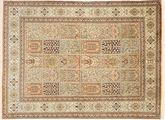 Kashmir pure silk carpet MSA140